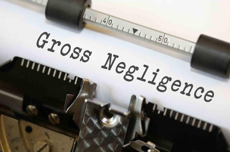 The Elements of Gross Negligence